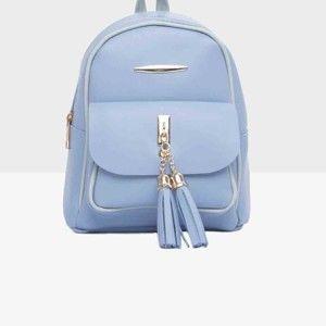 Světle modrý dámský batoh Mori Italian Factory Paresso Laro