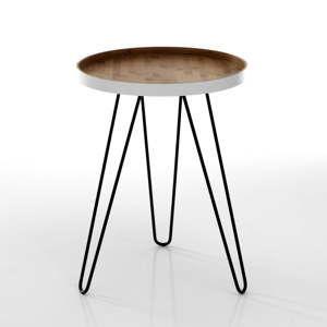 Odkládací stolek s deskou z bambusu Tomasucci Hijo