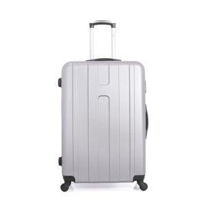 Cestovní kufr ve stříbrné barvě na kolečkách Hero Ioulia, 97 l
