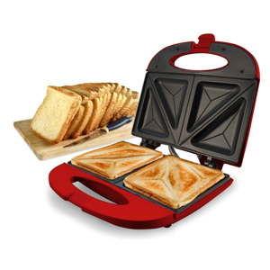 Červený toustovač JOCCA Sandwich