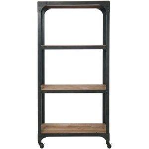 Knihovna na kolečkách Kare Design Factory Shelf