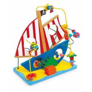 Dřevěná hračka Legler Pirate Ship