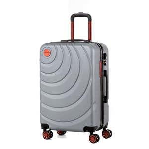 Šedý cestovní kufr Murano Manhattan, 71l