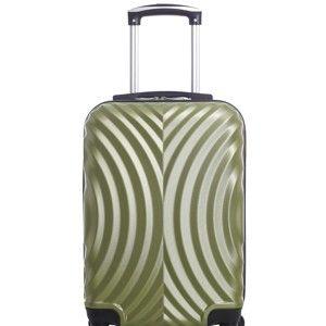 Zelený cestovní kufr na kolečkách Hero Lagos, 31l