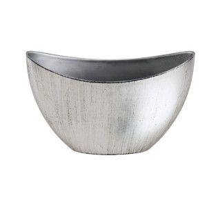 Dekorativní malá mísa ve stříbrné barvě Ego dekor