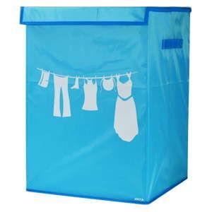 Modrý koš na prádlo JOCCA Laundry