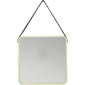 Nástěnné zrcadlo ve zlaté barvě Kare Design Aloha