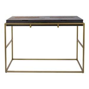 Černý konzolový stolek Santiago Pons Balford