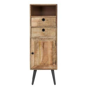 Skříňka z mangového dřeva Mauro Ferretti Belgrado, výška117cm