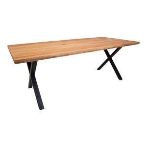 Jídelní stůl z dubového dřeva House Nordic Montpellier Oiled Oak, 200x95cm