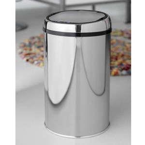 Bezdotykový odpadkový koš Steel Function Rimini, 12 l