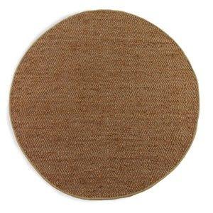 Hnědý koberec Geese Maine, Ø 180 cm