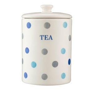 Dóza s puntíky z dolomitu na čaj Price & Kensington Padstow