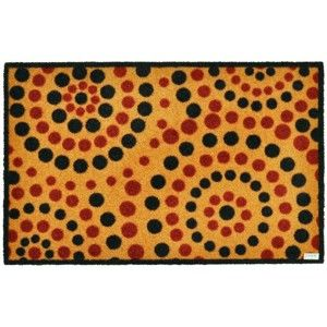 Rohožka Zala Living Dots Natural, 50x70cm