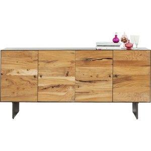 Komoda z akáciového dřeva Kare Design Pure