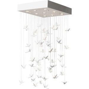 Bílé závěsné svítidlo Kare Design Birds