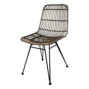 Jídelní židle z ratanu HSMcollection Eetka
