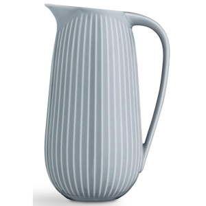 Světle modrý porcelánový džbán Kähler Design Hammershoi, 1,25 l