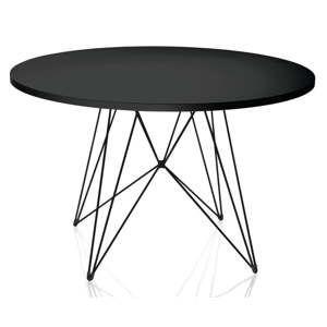 Černý jídelní stůl Magis Bella, ø72cm