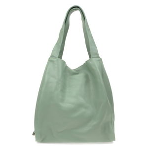 Dámská zelená kožená kabelka Isabella Rhea Tote