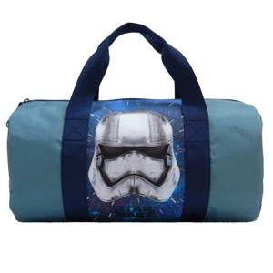 Modrošedá dětská sportovní taška Bagtrotter Star Wars