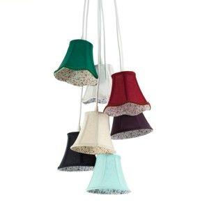 Závěsné svítidlo se 7 kabely Tomasucci Bells