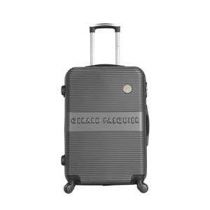 Tmavě šedý cestovní kufr na kolečkách GERARD PASQUIER Mirego Valise Weekend, 64 l