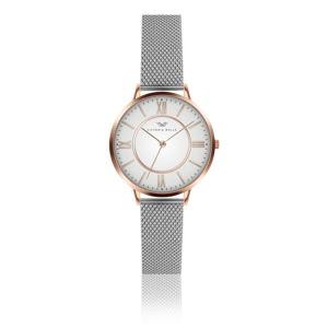 Dámské hodinky s páskem z nerezové oceli ve stříbrné barvě Victoria Walls Jane