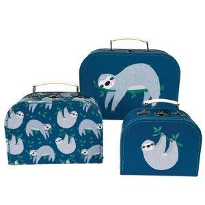 Sada 3 dětských kufříků Rex London Sydney The Sloth
