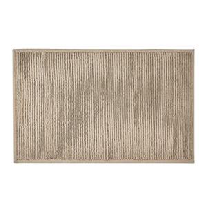 Béžová koupelnová předložka z bavlny Södahl