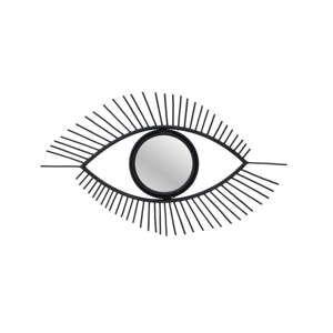 Zrcadlo ve tvaru oka s rámem z vrbového dřeva InArt Mystic