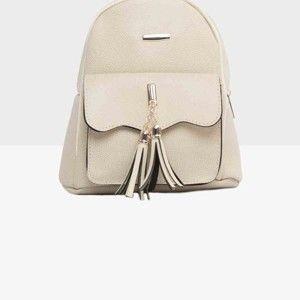Světle krémový dámský batoh Mori Italian Factory Paresso
