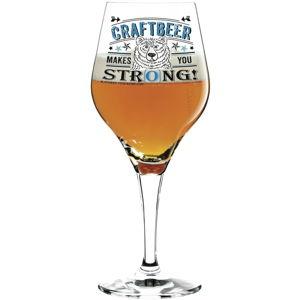Set sklenice na pivo a 5 podtácků Ritzenhoff Julien Chung, 560ml