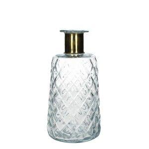 Skleněná průhledná váza HF Living, 24 cm