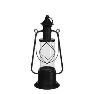 Černá kovová lucerna Ego Dekor Granada