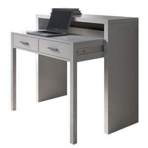 Bílý pracovní stůl Evergreen HouseGranada