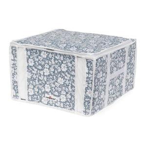 Modrý vakuový úložný box na oblečení Compactor Signature Vicky 3D Vacuum Bag, 125 l