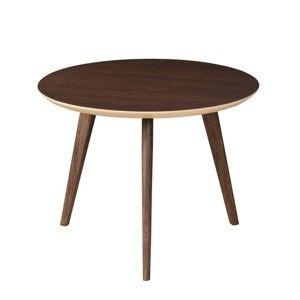 Odkládací stolek z masivního mangového dřeva Woodjam Play Dark
