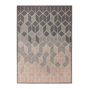 Šedo-růžový koberec Flair Rugs Dartmouth, 120 x 170 cm