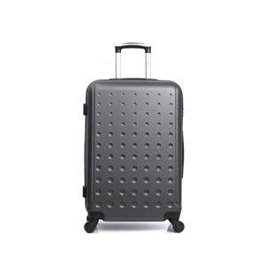 Tmavě šedý cestovní kufr na kolečkách Hero Taurus,39l