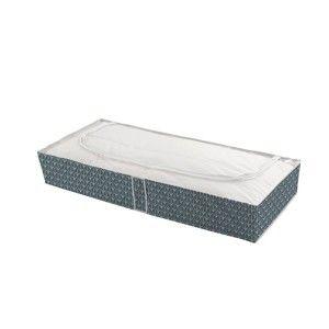 Tmavě zelený úložný box pod postel Compactor Vetements