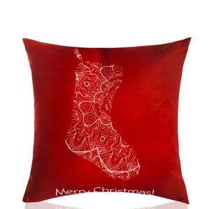 Polštář s výplní Christmas V23, 45 x 45 cm