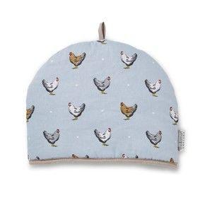 Modrá čepička z bavlny na konvici Cooksmart ® Farmers Kitchen