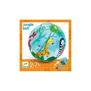 Dětský set 4 nafukovacích balónků a látkového potahu Djeco Jungle
