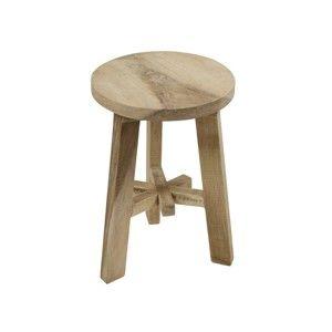 Stolička ze dřeva kaučukovníku Santiago Pons Ole