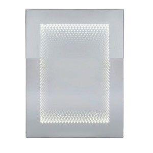 Nástěnné zrcadlo s LED osvětlením Kare Design Infinity, 60x80cm
