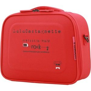 Červený příruční kufr LULU CASTAGNETTE Greg, 11l