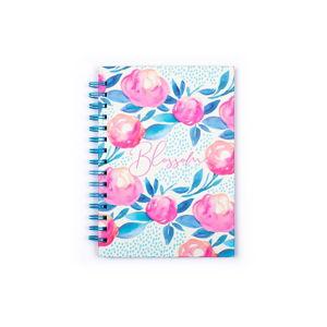 Zápisník v kroužkové vazbě Tri-Coastal Design Blossom, 120 stránek