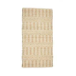 Béžový koberec zmořské trávy abavlny Simla, 240x170cm