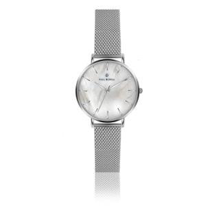 Dámské hodinky s páskem z nerezové oceli ve stříbrné barvě Paul McNeal Butio